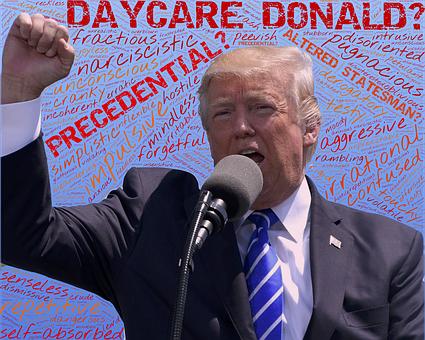 Trump, Mental, Dementia, Dimwitted, Impaired