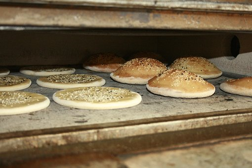 Doner Bread, Doner Kebab, Kebap Bread, Kebap