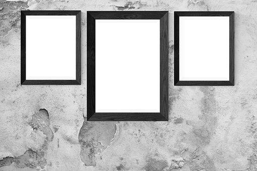 Poster, Wall, Mockup, Interior, Frame, Mock, Gallery