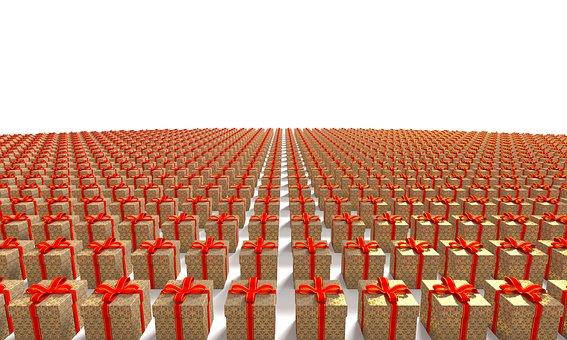Present, Gift, Box, Holiday, Christmas, Ribbon