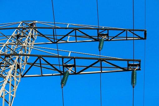 High-voltage Power Line, Frame, Air, Tight