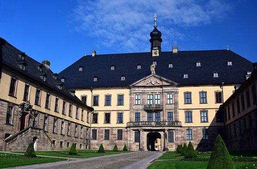 Castle, Fulda, Schloss Fulda, Old Town, Historically