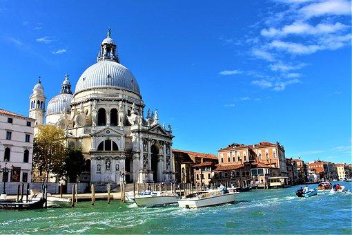 Venice, Italy, Santa Maria Della Salute, Church