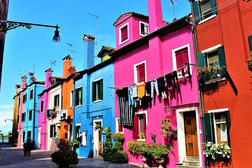 Venice, Italy, Burano, Island, Beautifully, Travel