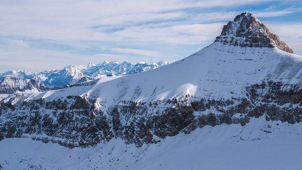 High Mountains, Mountains, Switzerland, Winter