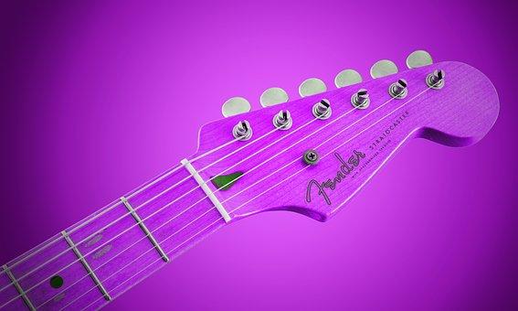 Guitar, Music Background, Background, Music