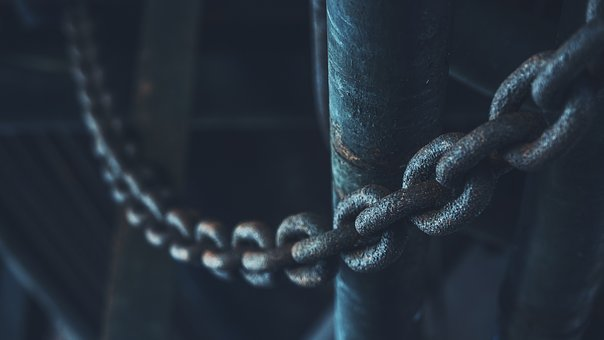 Chain, Nature, Abstract