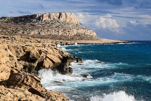 Rocky Coast, Formation, Rock, Erosion, Nature, Sea