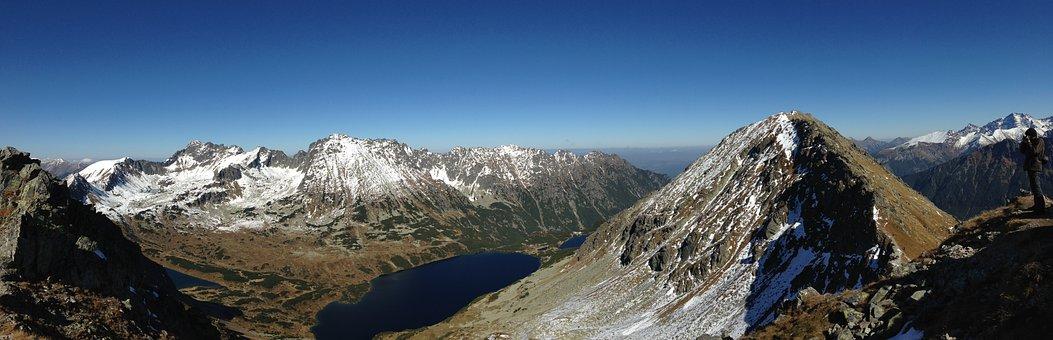 Landscape, Mountains, Panorama, Tatry, Nature