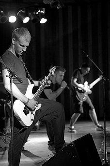 Music, Guitar, Rock, Concert, Play, Musician, Band