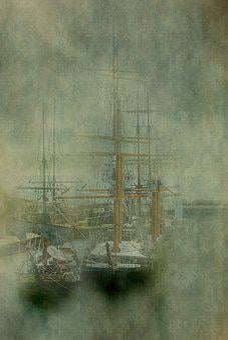 Charleston, Cornwall, England, Harbour, Sea, Britain