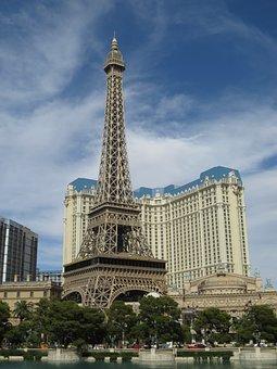 Paris, Las Vegas, Hotel, Casino, Vegas, Nevada, Tower