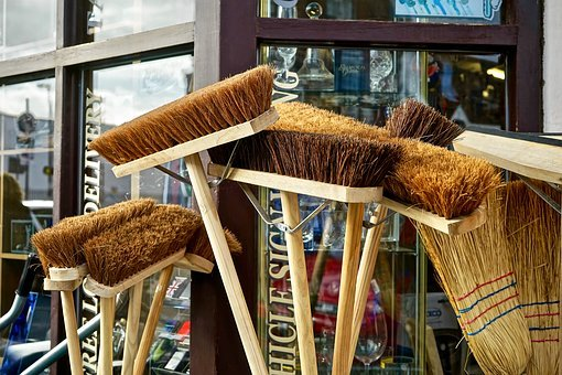 Broom, Sweep, Brush, Sweeping, Clean, Tool, Broomstick