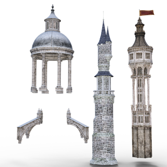 Tower, Architecture, Building, Historically, Fantasy