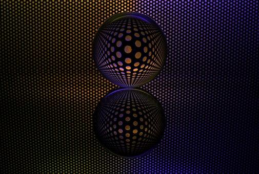 Glass Ball, Glass, Reflection, Mirroring, Light