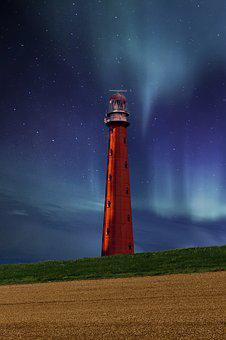 Lighthouse, Graphic, Background