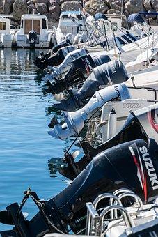 Boats, Motors, Nautical, Leisure, Speedboat, Motorboat