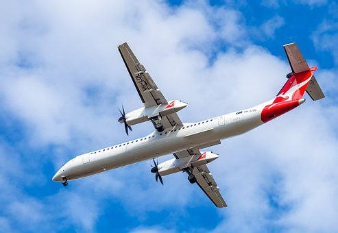 Vh-lql Qantas Link, Twin Turboprop