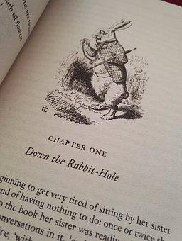 Alice, English, Wonderland, Rabbit, Literature, Carroll