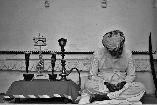 India, Jodhpur, Rajasthan, Meditation, Peace