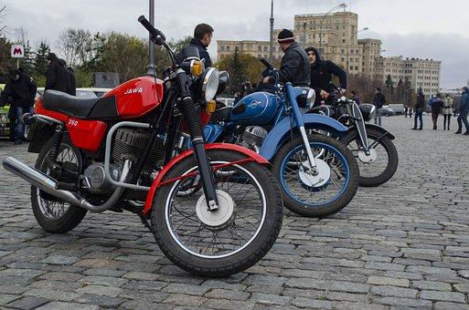 Motorcycle, Wheel, Rakurs, Red, Motorcycles