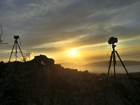 Photography, Photograph, Camera, Sunrise, Recording