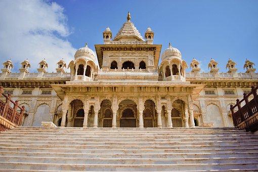 India, Jodhpur, Mausoleum, Royal, Tomb