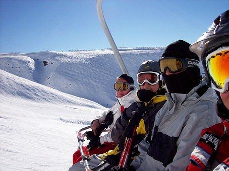 Snow, Japan, Chairlift, Travel, Japanese