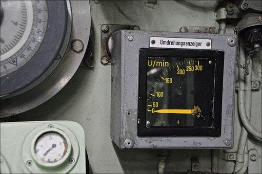 Valve, Ad, U Boat, German Navy, Machine, Technology