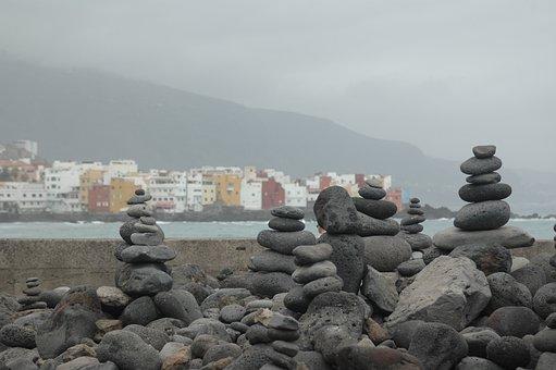 Tenerife, Spain, Island, Sea, Vacation, Rock, Europe