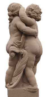 Angel, Hug, Angel Figure, Innocence, Embrace, Harmony