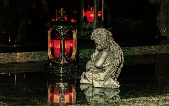 All Saints, Angel, Grave Lantern, Grave Light, Light