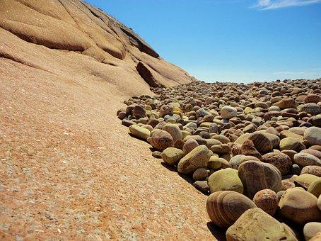 Stones, Rock, Pebbles, Scree, Beach