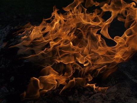 Fire, Flames, Burning