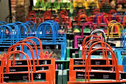 Hänkel, Bags, Color, Flower Market, Amsterdam, Holland