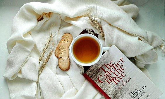Tea, Cookies, Tea Party, Food, Book, Reading