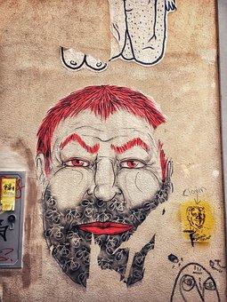 Graffiti, Street, Art, Creativity, Wall