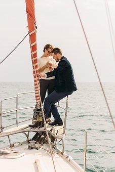 Sea, Sentence, Date, Yacht, Ring, Engagement, Wedding