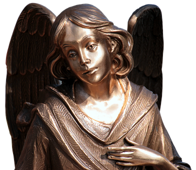 Angel, Metal, Wing, Figure, Art, Sculpture, Artwork