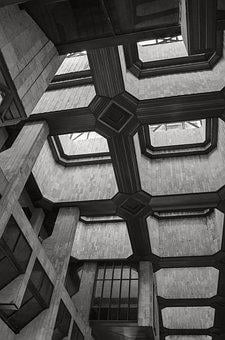 Geometric, Architecture, Forms, Line, Openings