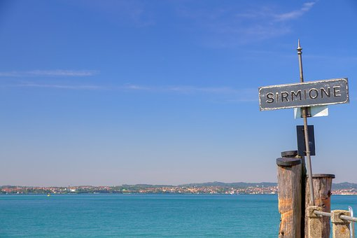 Sirmione, Garda, Italy, Mediterranean, Outlook, Lake