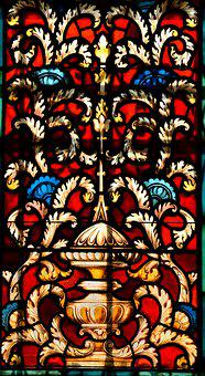 Stain Glass, Window, Art, Glass, Stained, Church