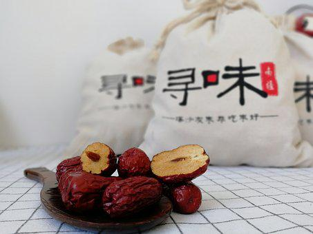 Delicious, Health, Jujube, Gray Jujube