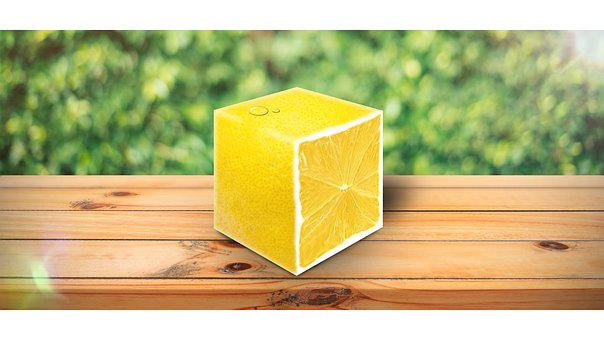 Lemon, The Interior Of The Fruit, Yellow, Cut Fruit
