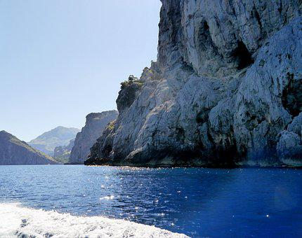 Spain, Mallorca, Coast, Mountains, Caves