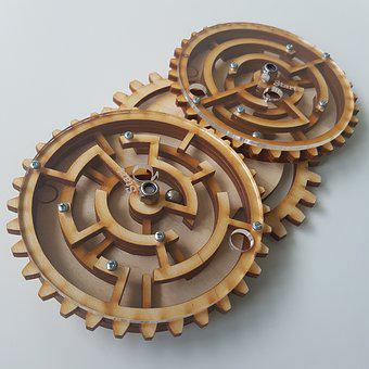 Mindgames, Woodtoys, Gear, Mechanism Engineering