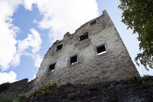 Burgruine, Masonry, Lapsed, Fortress, Old, Historically