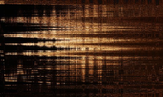 Background, Gold, Black, Course, Abstract, Pattern
