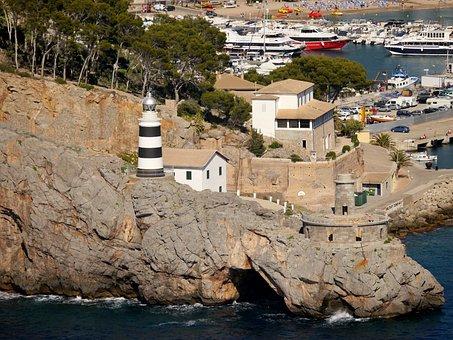 Spain, Mallorca, Coast, Port, Port De Sóller