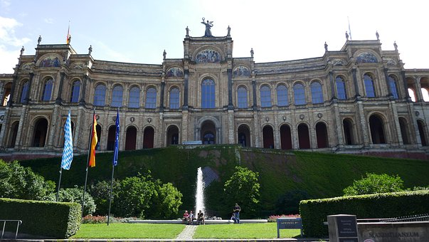 Maximilianeum, The Bavarian Landtag, Tourism